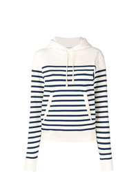 Saint Laurent Horizontal Striped Hoodie