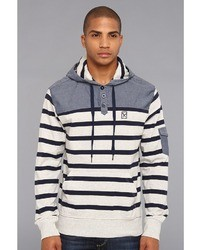 Ecko Unlimited Marc Ecko Cut Sew Concordia Striped Hoodie Apparel