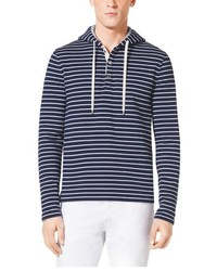 Michael Kors Michl Kors Mariner Striped Cotton Hoodie