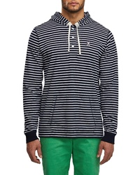 Psycho Bunny Poole Stripe Pullover Hoodie