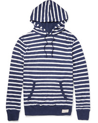 Polo Ralph Lauren Striped Mlange Pima Cotton Jersey Hoodie