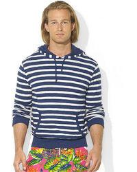 Polo Ralph Lauren Striped Slub Jersey Pullover Hoodie