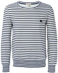 Brit striped long sleeve t shirt medium 321633
