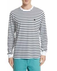Carhartt Work In Progress Stripe Long Sleeve T Shirt