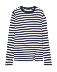 Bassike Classic Vintage Striped Organic Cotton Jersey Top