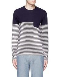 Alex Mill Combo Stripe Long Sleeve T Shirt