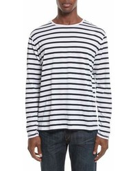 rag & bone Henry Stripe Long Sleeve T Shirt