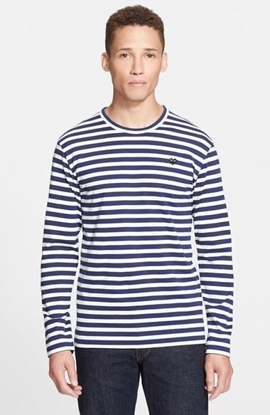 9a39ea694bec Comme des Garcons Play Stripe T Shirt