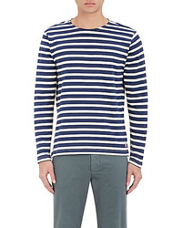 Paul Smith Ps By Breton Striped Cotton Top