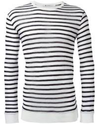 T by striped long sleeve t shirt medium 321639