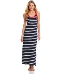 Stripe maxi dress medium 167170