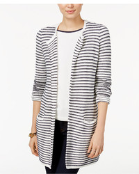 Taylor striped cardigan only at macys medium 1252231