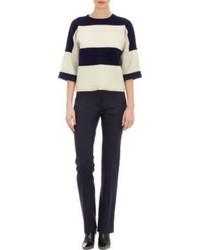 Derek Lam Block Stripe Pullover Sweater
