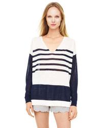 Club Monaco Magdalene Striped Sweater