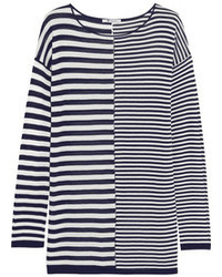 Alexander Wang T By Striped Jersey Top