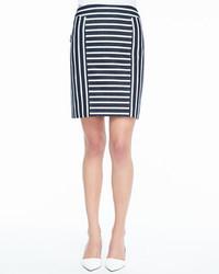 Barrow striped pencil skirt medium 134350