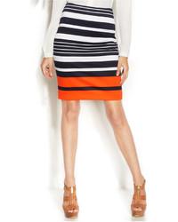 MICHAEL Michael Kors Michl Michl Kors Striped Pencil Skirt