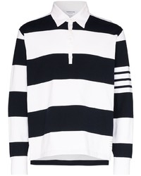 Thom Browne 4 Stripe Sleeve Polo Shirt