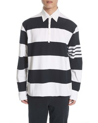 Thom Browne Stripe Rugby Polo