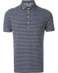 Brunello Cucinelli Striped Polo Shirt
