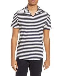 Oliver Spencer Hawthorn Slim Fit Stripe Polo