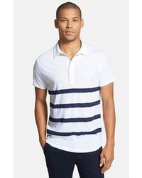 Bonobos Malibu Stripe Slim Fit Peruvian Cotton Polo