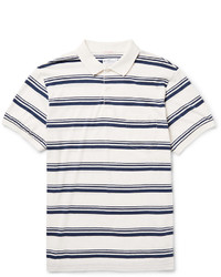 Gant Rugger Striped Cotton Jersey Polo Shirt