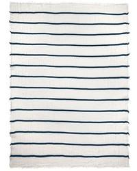 Franco ferrari pencil stripe silk linen scarf medium 194449
