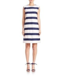 Max Mara Memore Striped Shift Dress