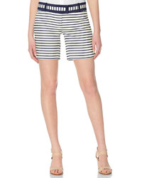 The limited cassidy striped tailored shorts medium 227694