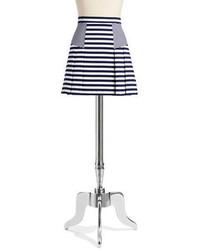 MICHAEL Michael Kors Michl Michl Kors Striped Pleated Skirt