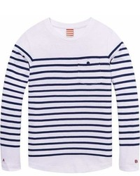 Scotch & Soda Breton Striped T Shirt