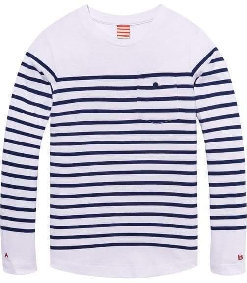 Scotch & Soda Breton Striped T Shirt