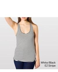 American Apparel Striped Racer Back Tank