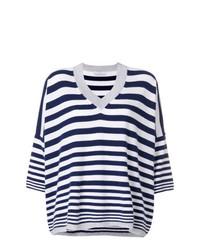 Giada Benincasa Cashmere Striped Sweater