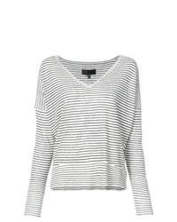 Nili Lotan Thin Stripe Sweater
