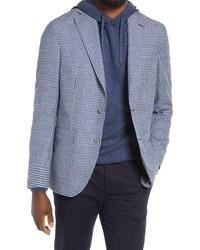 Jack Victor Midland Houndstooth Wool Blend Sport Coat