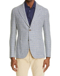 Eleventy Slim Fit Houndstooth Sport Coat
