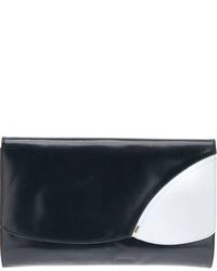 Bally vintage bi colour clutch medium 85840