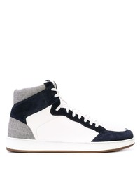 Eleventy High Top Lace Up Sneakers