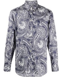 Etro Paisley Print Button Down Shirt