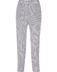 White and Navy Pants