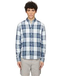 rag & bone Blue Check Fit 2 Thomlin Shirt