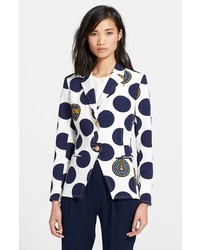 Polka dot cutaway jacket medium 186490