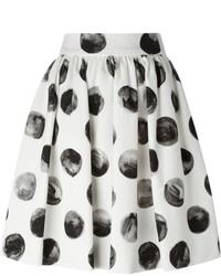 Dolce & Gabbana Large Polka Dot Print Skirt