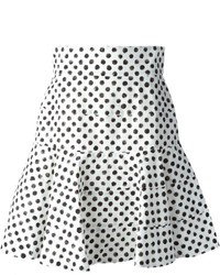 Dolce gabbana polka dot print skirt medium 193494