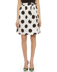 Polka dot wrap skirt medium 193493