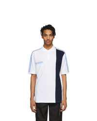 GR10K White And Navy 3m Polo