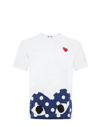 Comme Des Garcons Play Comme Des Garons Play Heart Print T Shirt