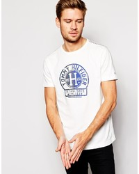 Tommy Hilfiger T Shirt With Stamp Logo Print
